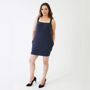 Forever 21 boxy blue dress
